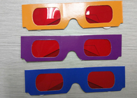 Çin Decoder Glasses for Sweepstakes and Prize Giveaways - Red / Red Fabrika