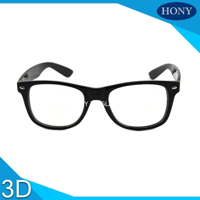 Çin Cinema White Circular Polarized 3D Glasses foldable arms WITH Anti UV Distribütör