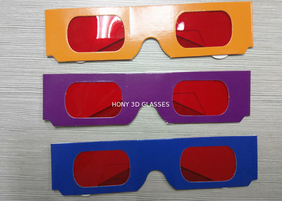 Çin Decoder Glasses for Sweepstakes and Prize Giveaways - Red / Red Distribütör