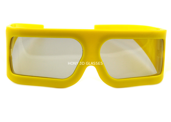 Çin IMAX Passive Unfoldable Extra Large Lens 3D Glasses Eyewear for Cinema Movie Distribütör