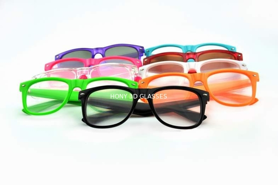 Çin Colorful Frame Plastic Diffraction Glasses For Fireworks From Hony Distribütör