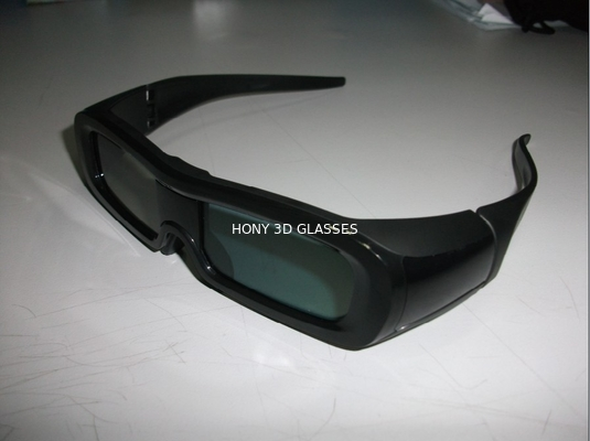 Çin PC Frame Universal Active Shutter 3D TV Glasses With IR Receiver OEM Distribütör