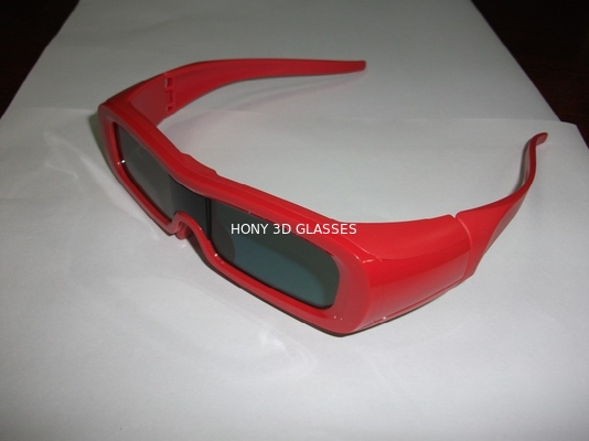Çin ODM LG Universal 3D Active Shutter Glasses , IR 3D Glasses Rechargeable Distribütör