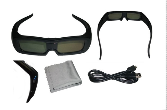 Çin Polarized Effect Universal Active Shutter 3D  Glasses Bluetooth 120Hz Distribütör